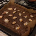 Easter Egg Brownies recipe