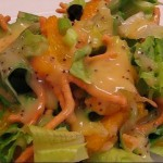 Festive Red and Green Salad recipe