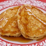 Fluffy Double Chocolate Pancakes recipe