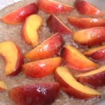 French Peach Tartlets recipe