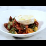 Fresh Tomato and Mozzarella Salad recipe