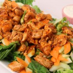 Fried Chicken Salad recipe
