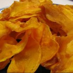 Fried Yam Chips recipe