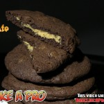 Frosted Double Chocolate Cookies recipe
