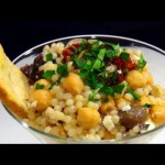 Garbanzo Bean Salad with Feta and Sun-Dried Tomatoes recipe