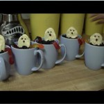 Ghostly Pudding Cups recipe