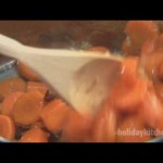 Gingered Carrots with Dates recipe