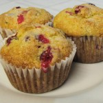 Glazed Cranberry Cupcakes recipe