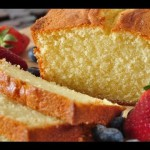 Golden Pound Cake recipe