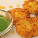 Green Chili-Corn Cakes recipe