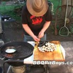 Grilled Clams and Mussels recipe