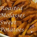 Grilled Sweet Potatoes with Molasses Glaze recipe