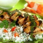 Grilled Chicken with Fiery Jalapeno Sauce recipe