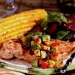 Grilled Chicken with Nectarine Guacamole recipe