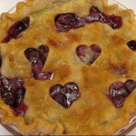 Handmade Cherry Almond Pie recipe