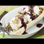 Holiday Banana Split recipe