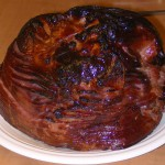 Honey Glazed Ham Steak recipe