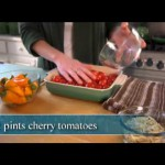 Honey-Glazed Sweet Red Peppers with Goat Cheese recipe