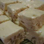 Honey Nut White Fudge recipe