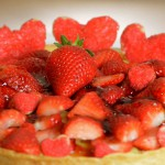 Honey Strawberry Tart recipe