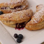 Huckleberry Puffed Pancake recipe