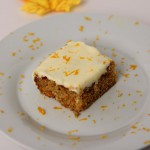 Iced Orange-Carrot Bars recipe