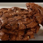 Jumbo Dark Chocolate Cookies recipe