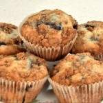 Jumbo Streusel-Topped Blueberry Muffins recipe