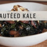 Kale with Garlic and Bacon recipe