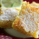Lemon-Butter Snowbars recipe