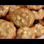 Lemon Nut White Chip Cookies recipe