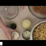 Light Savory Cereal Snack Mix recipe