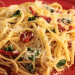 Linguine and Spinach recipe