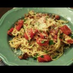 Linguine with Shrimp and Cherry Tomatoes recipe