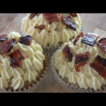 Maple Browned Butter Bacon Cupcakes recipe