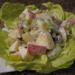 Maple Turkey Waldorf Salad recipe