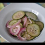 Marinated Cucumber Salad recipe