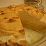 Meringue Pie Crust recipe