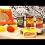 Mexican Bean & Turkey Burrito recipe