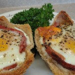 Mexican Ham and Egg Brunch recipe