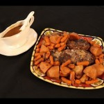Mom's Pot Roast with Vegetables and Gravy recipe