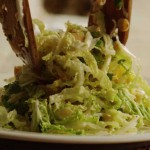 Napa Cabbage Slaw with Dill recipe
