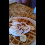 Oatmeal Nut Waffles recipe