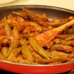 Okra Tomato Salad recipe