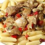 One Pot Beef and Salsa Soup recipe