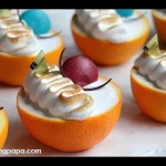 Orange Mousse Dessert recipe