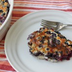 Oregon Blueberry Clafoutis recipe