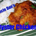 Oyster Sauce Chicken Thighs recipe