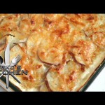 Passover Leek and Potato Gratin recipe