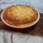 Pasta Quiche with Smoked Salmon recipe